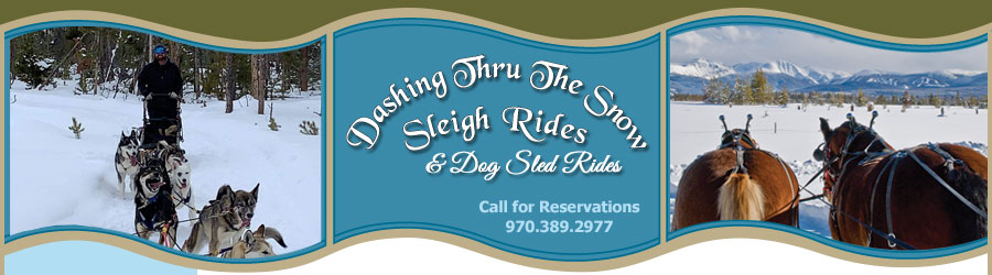Dashing Thru The Snow Sleigh Rides and Dog Sled Rides - Call for Reservations